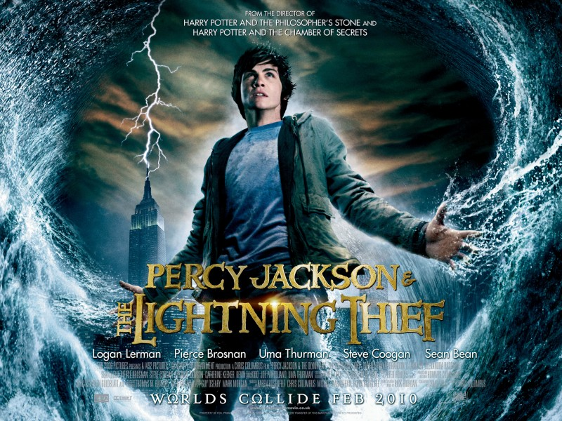 Percy Jackson Lightning Thief Characters